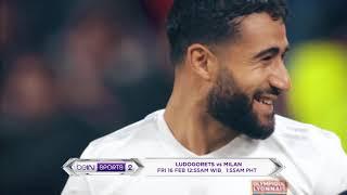 Highlight beIN Sports Februari - Ludogorets vs AC Milan