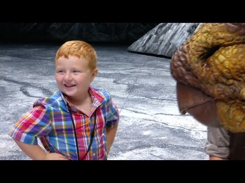 Noah Ritter Walks with Dinosaurs