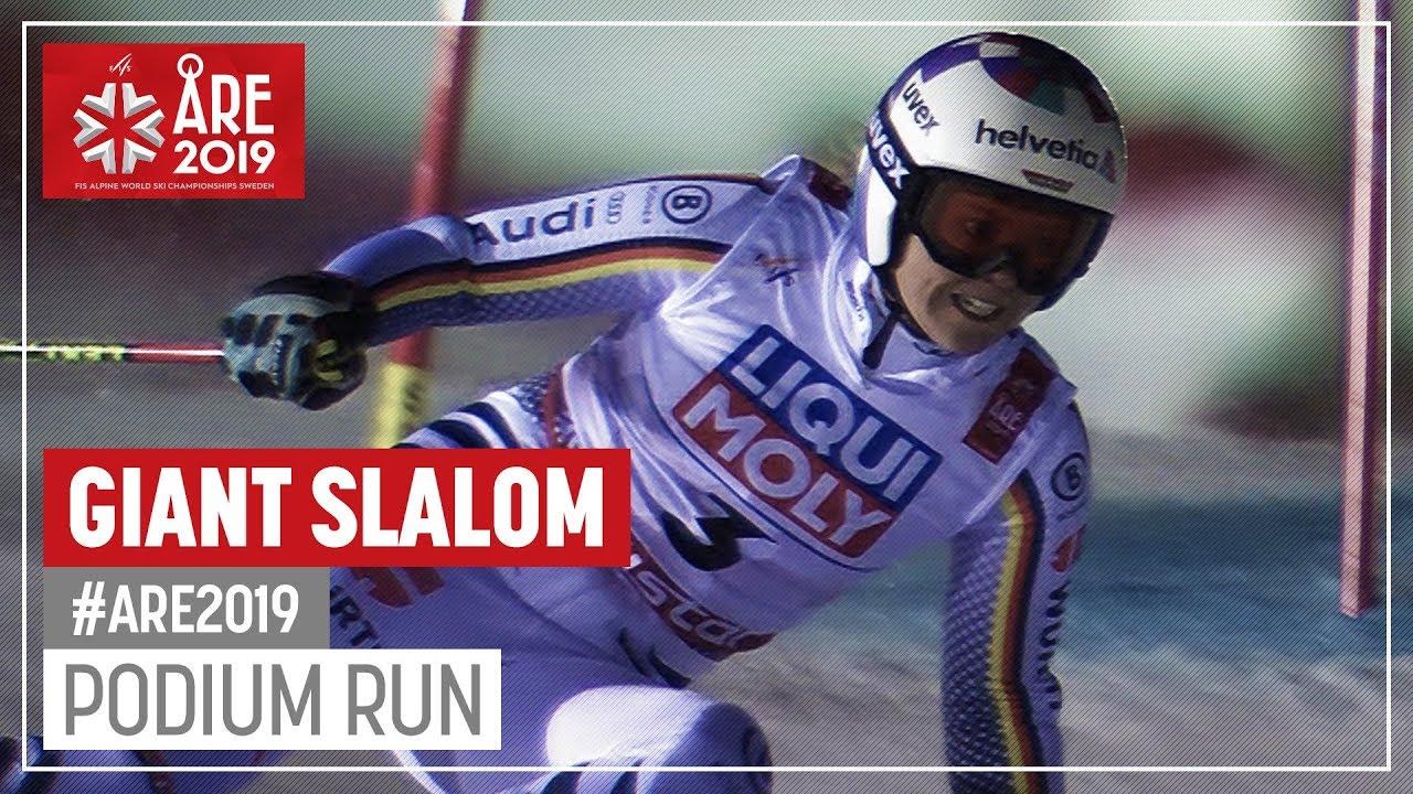 Viktoria Rebensburg   Silver Medal   Ladies' Giant Slalom   Are   FIS World Alpine Ski Champion