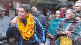 Dhurmus in  Dolakha for clean up campaign : encouraged local people in such a way