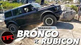 Ford Sticks It To Jeep By Taking The New Bronco On The Rubicon Trail: No, Youre Wrong! YouTube Videos
