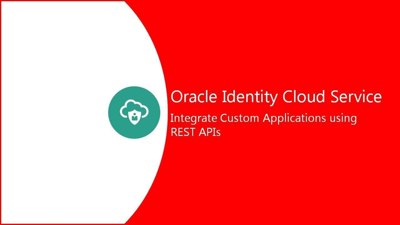 Integrate Custom Applications with REST APIs