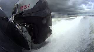 Intrepid 375 CC w/Twin 557HP Seven Marine engine package.....70MPH...yes...w/twins : )