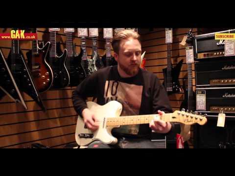 Fender - American Standard Vs Mexican Standard Telecaster Demo At GAK