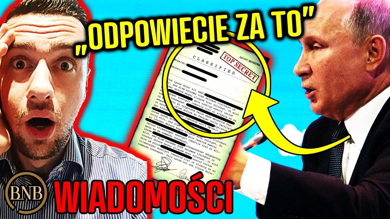 "Download Polska O̲S̲K̲A̲R̲Ż̲O̲N̲A̲! Putin: ""Współpracowaliście Z NIEMCAMI""   WIADOMOŚCI"