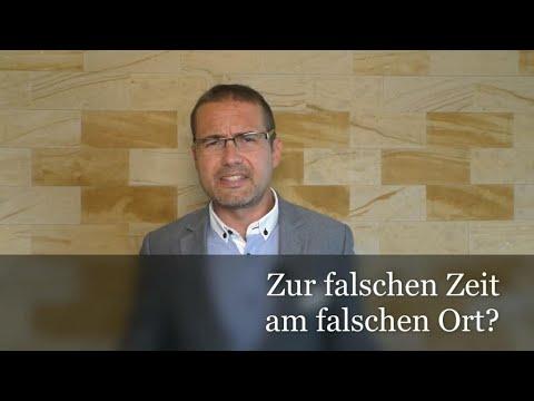 ⁉ Messeropfer von Würzburg: Zur falschen Zeit am falschen Ort ⁉