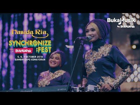 Nasida Ria Live at Synchronize Festival 2018 | BukaMusik