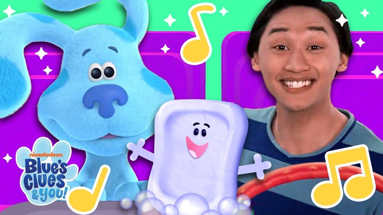 School Bus Sing Along #3 w/ Blue & Slippery Soap! | Blue's Clues & You!