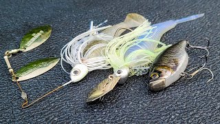 The EASIEST Way T๐ Catch MORE BASS!! Chatterbait, Spinnerbait, Crankbait Trick!