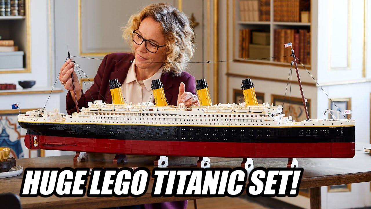 Lego unveils Titanic set, its largest ever