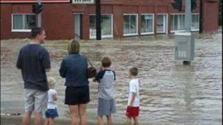 Flood & tornado in Mansfield, Lexington and Shelby, Ohio are