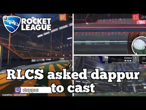 Daily Rocket League Moments: RLCS asked dappur to cast thumbnail