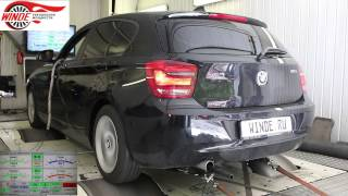 BMW 116i - чип-тюнинг от WINDE.RU(Официальный сайт http://winde.ru/ Телефон (495)979-7475 Чип тюнинг - оптимизация программы управления двигателя с цель..., 2014-06-27T21:04:35.000Z)