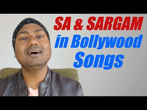 """""""Sa"""" And """"Sargam"""" In Bollywood Songs """"Indian Music Lessons By Mayoor"""