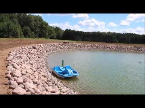 Pond Construction in Central Wisconsin by Faulks Brothers