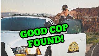 Good Cop Caught Doing Something Heroic To Keep Everyone Safe!