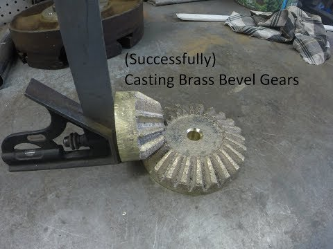 casting brass bevel gears