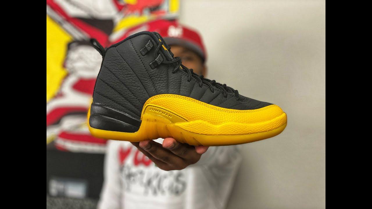 First Look At The Air Jordan 12 Gary Payton Black University