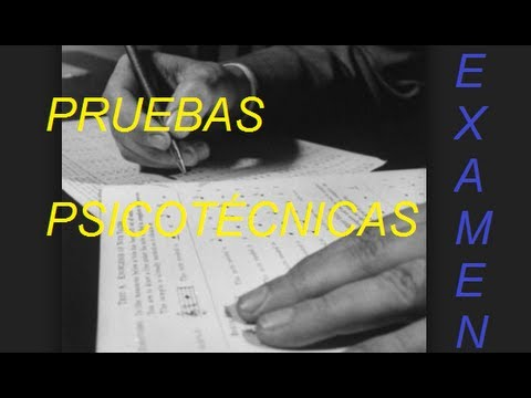 PRUEBAS PSICOTÉCNICAS from YouTube · Duration:  4 minutes 35 seconds