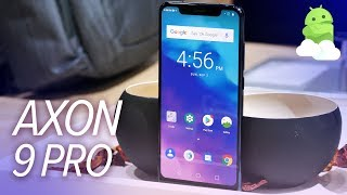 ZTE Axon 9 Pro Impressions: Hands-on from IFA 2018!