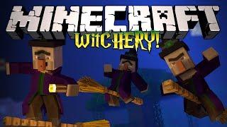 Minecraft: ВЕДЬМОВСТВО! (Проклятья, Демоны и тд) Обзор модов [Witchery]