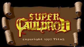 Super Cauldron gameplay (PC Game, 1992)