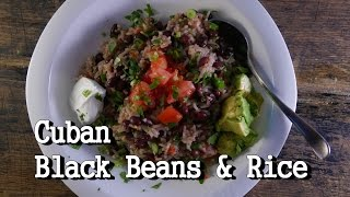 Cuban Black Beans and Rice Recipe (Viewer Request) - Family Dinner Time!