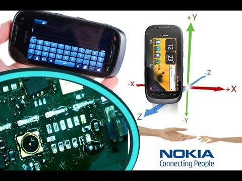 Nokia 701 Does not rotate the screen - Accelerometer replacement / riparazione della rotazione