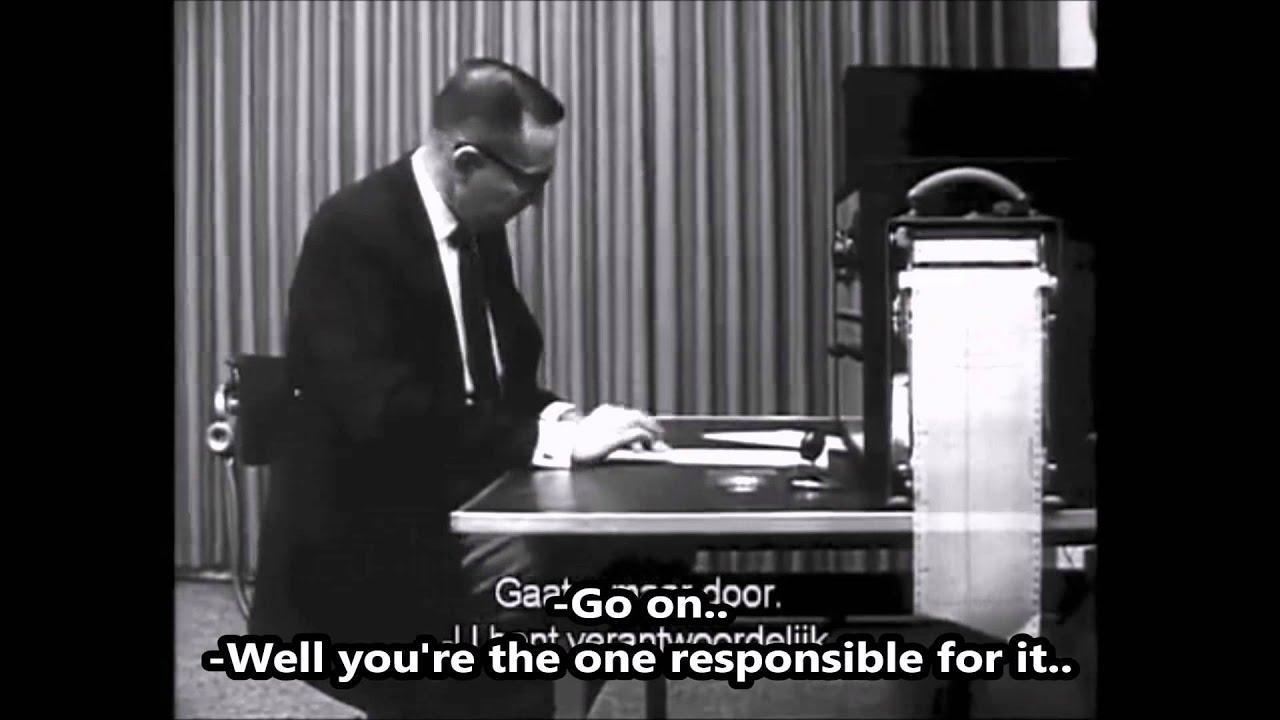 Milgram Experiment Youtube