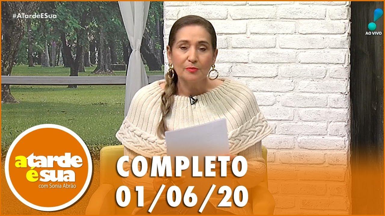 assistir - A Tarde é Sua (01/06/20) | Completo - online