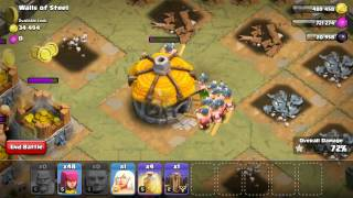 Clash of Clans Single Player - Walls of Steel 3