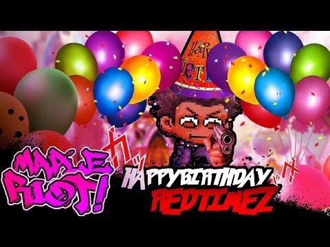 Happy Birthday Redtimez! (By Bio The Demonic Animator)