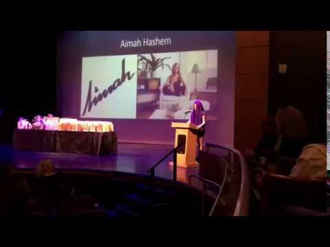 Aimah speech, Aventura City of Excellence School