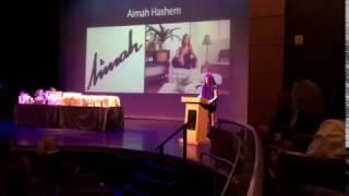 Aimah speech, Aventura City of Excellence School YouTube Videos