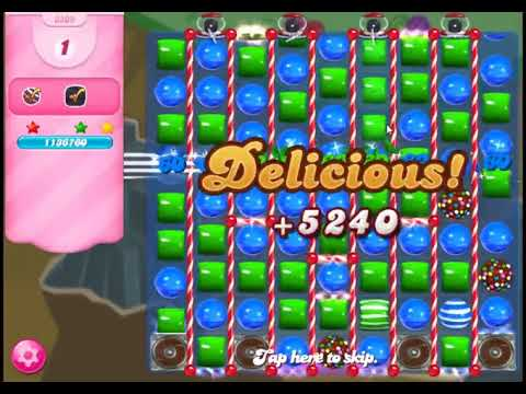 Candy Crush Saga Level 3309 - NO BOOSTERS