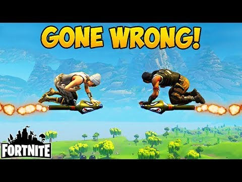 Rocket Ride GONE WRONG! - Fortnite Funny Fails and WTF Moments! #77 (Daily Moments)