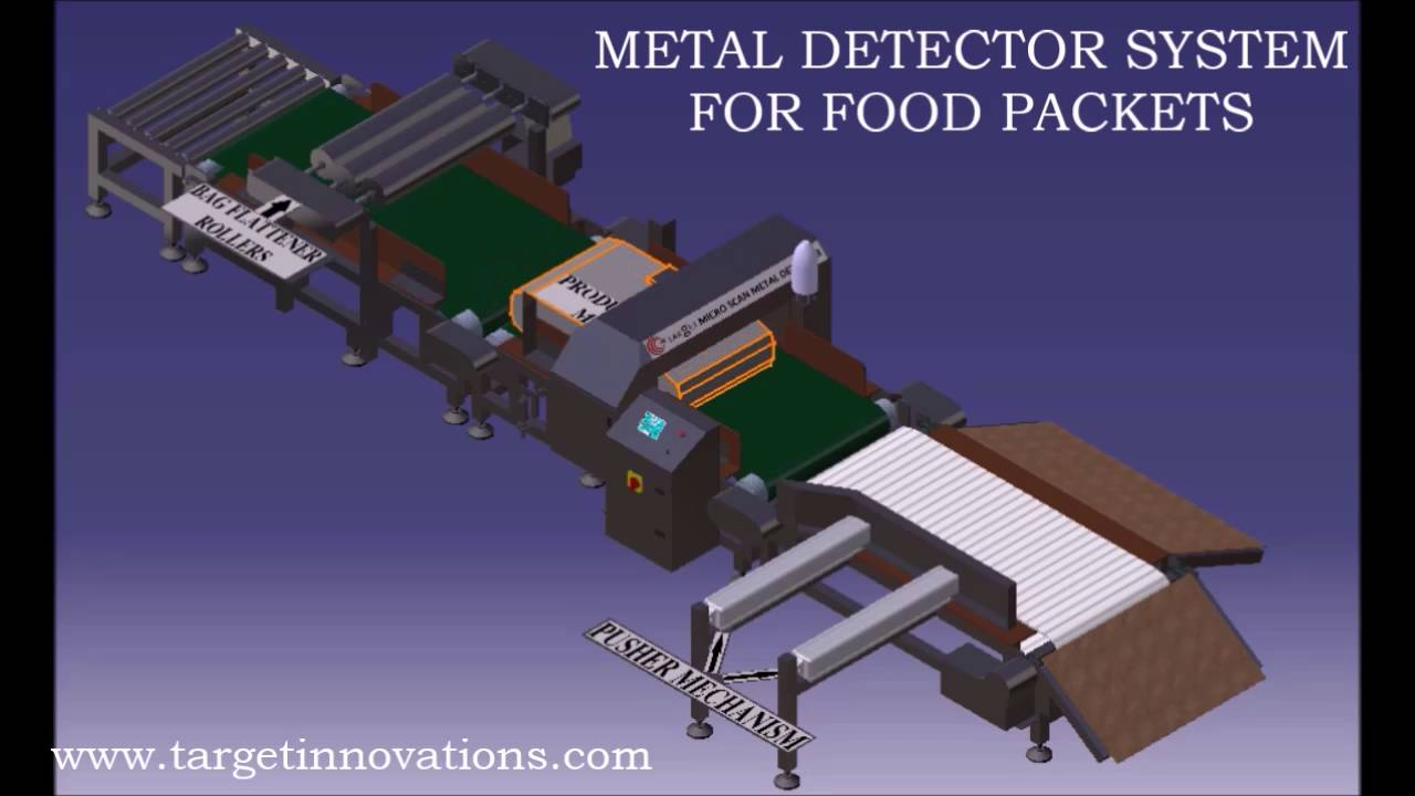 maxresdefault metal detector pusher type reject mechanism youtube