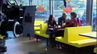 Железный Человек   2  как снимали сцену в пончиковой