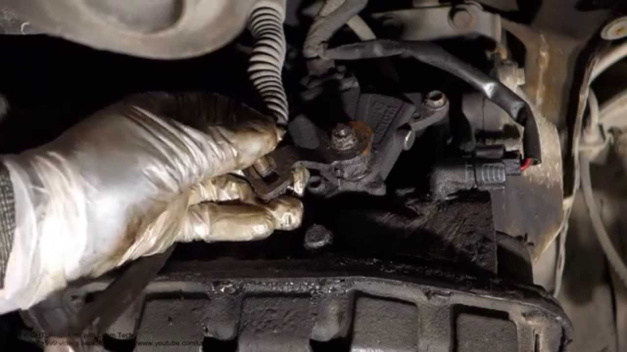 How to adjust automatic gearbox gears Toyota Corolla Years 1995 to 2010  YouTube