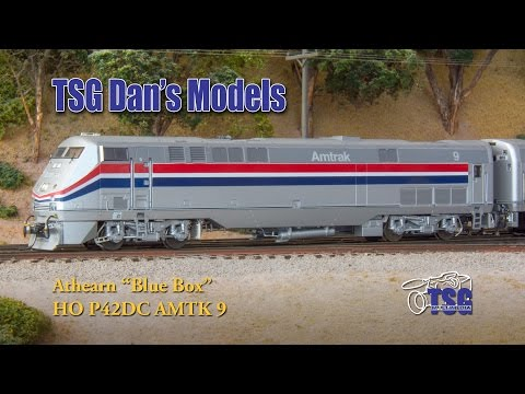 HO Scale DCC Equipped P42DC Amtrak Dan's Models
