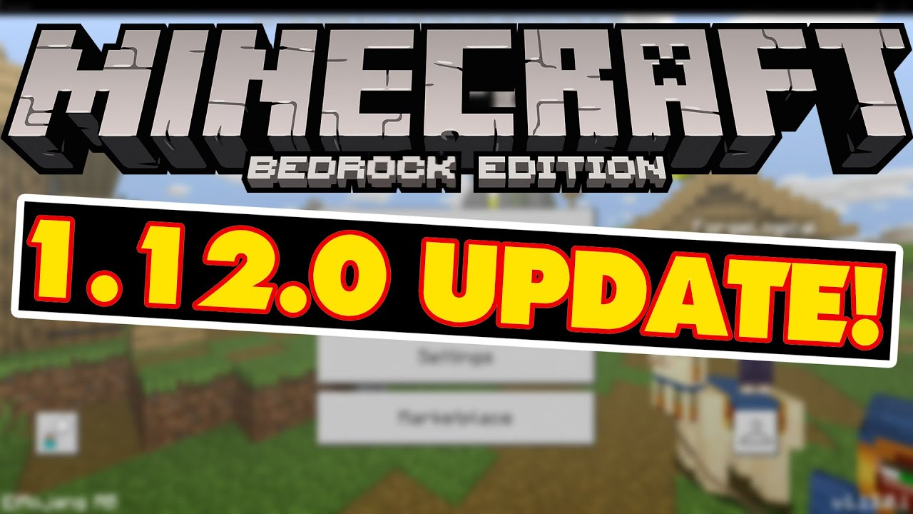 Download Minecraft Bedrock 1 12 0 for Android — Minecraft PE