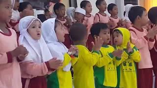 MeNyanyi Lagu LIHAT BAPAK / IBU POLISI | PSA Polresta Yogya - TK ABA Mergangsan Kidul Yogyakarta