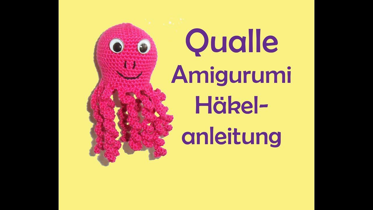 Häkelblog - Häkelanleitungen: Großer Octopus - Häkelanleitung | 720x1280