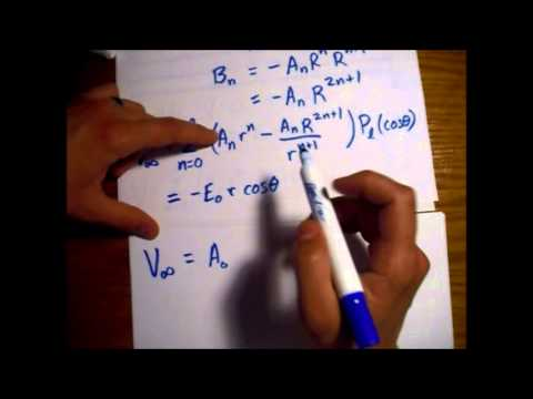 Conducting Sphere in Constant Electric Field