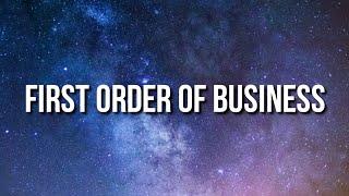Baby Keem - First Order Of Business (Lyrics)