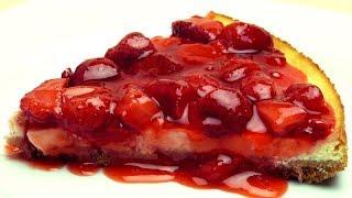 Erdbeere Käsekuchen ohne Boden Rezept