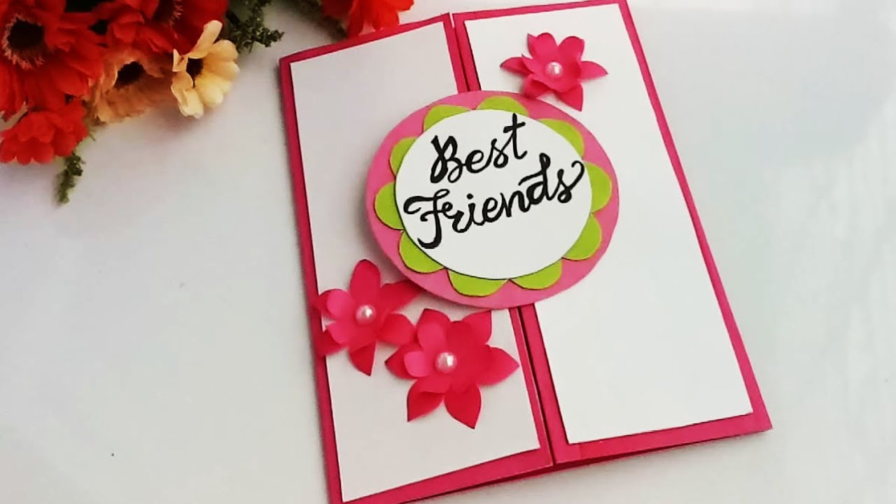 How To Make Special Card For Best Friend DIY Gift Idea