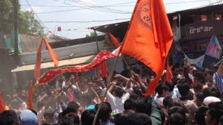 Shri ram navami shobha yatra 2015 - Raja Singh Dhoolpet