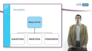 Adquisición de la propiedad y demás derechos reales I:   Transmisión intervivos  Usucapión