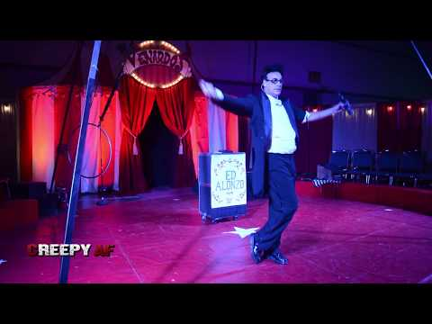 Saved By The Bell's Ed Alonzo Magic Show - Scare LA Horror Convention | CREEPY AF